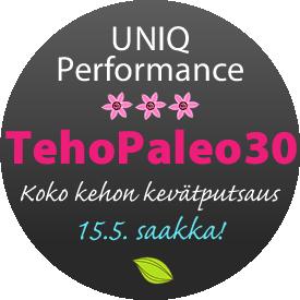 UP tehopaleo30