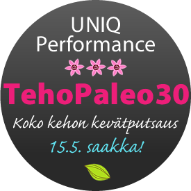 UP tehopaleo30