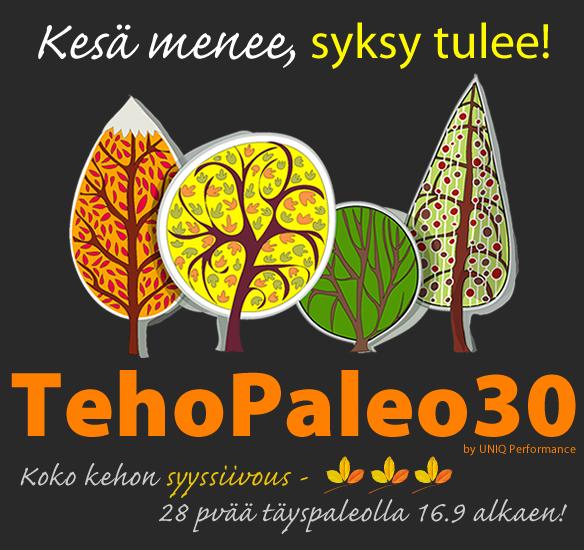TehoPaleo30 - Syksy13