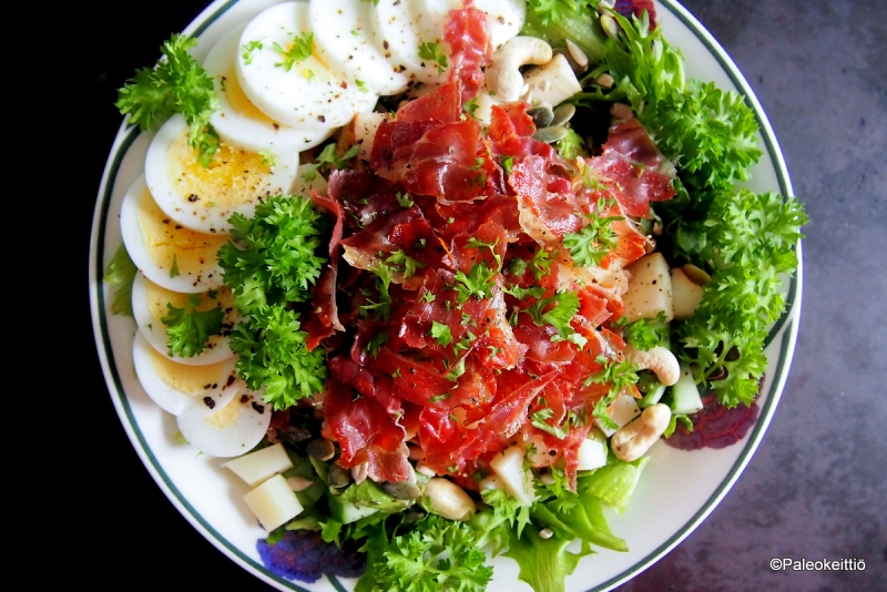 Insalata Parma | Parman salaatti | paleokeittio.fi