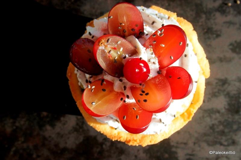 Hedelmäiset kakkukupit | paleokeittio.fi