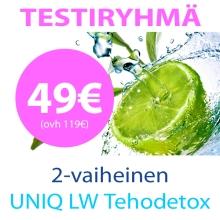 2-vaih UNIQ LW Tehodetox