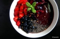 Mustikka-meloni smoothie bowl | paleokeittio.fi