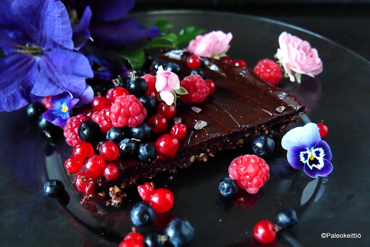 Jäähyväiset kesälle - Supersuklainen suklaatorttu