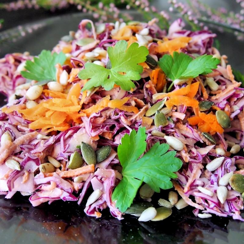 Eksoottisempi kaaliraastesalaatti (coleslaw) | TehoPaleo -reseptit 2/15
