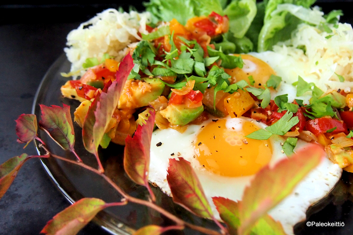 Meksikolainen muna-aamiainen | TehoPaleo -reseptit 2/15