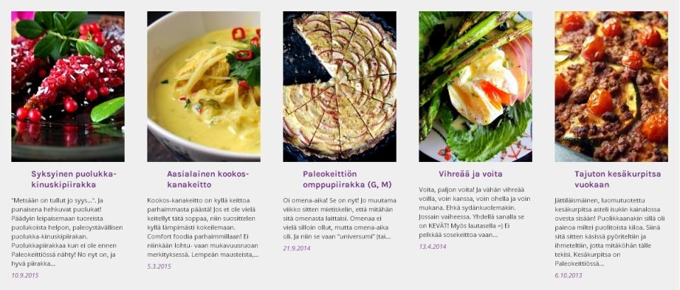 Syyskuun suosituimmat   paleokeittio.fi
