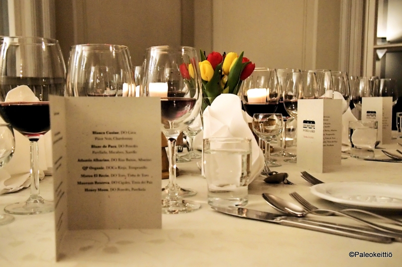 Viinin ja ruoan liitto - Elämyksellinen viini-ilta Wohls Gårdissa