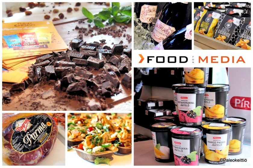 Kevään ruokauutuuksia Food for media -tapahtumassa