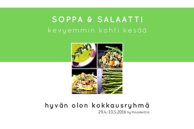 Paleokeittiön Soppa&Salaatti – Iloa ja hyvää oloa kasviksista!