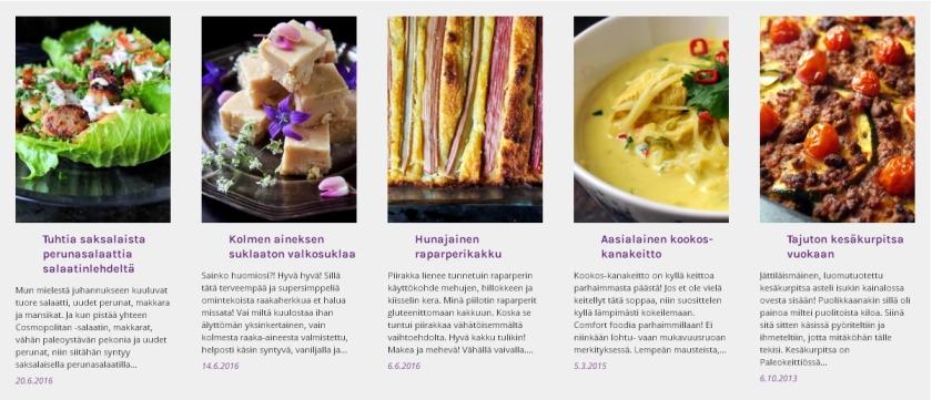 Kesäkuun suosituimmat reseptit | paleokeittio.fi