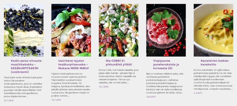 Heinäkuun suosituimmat reseptit | paleokeittio.fi