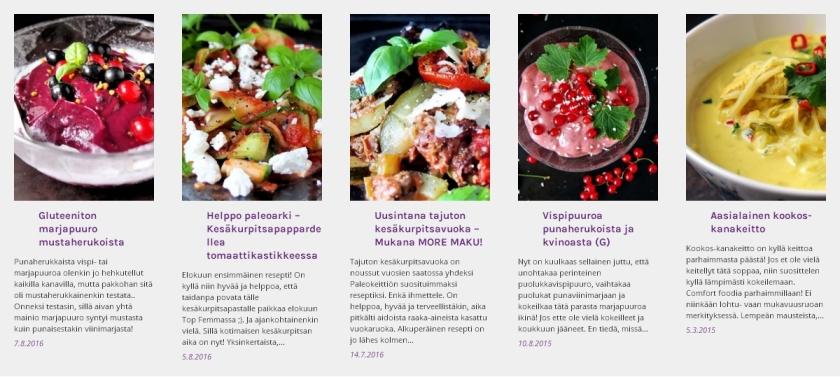 Elokuun suosituimmat reseptit | paleokeittio.fi