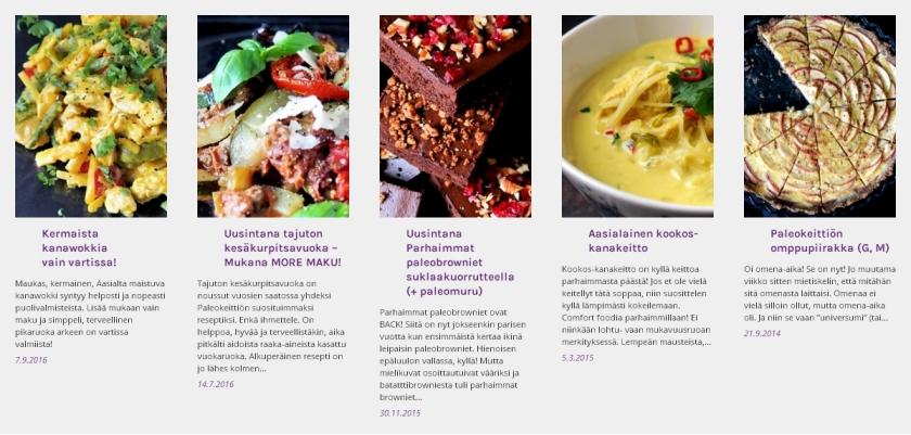 Syyskuun suosituimmat reseptit | paleokeittio.fi