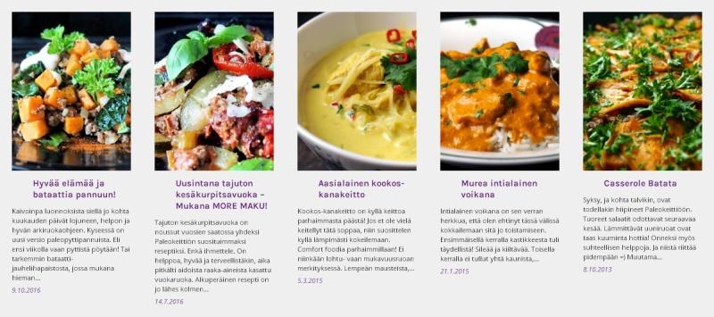 Lokakuun suosituimmat reseptit | paleokeittio.fi