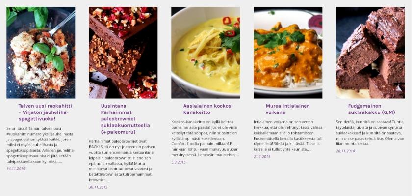 Marraskuun suosituimmat reseptit | paleokeittio.fi