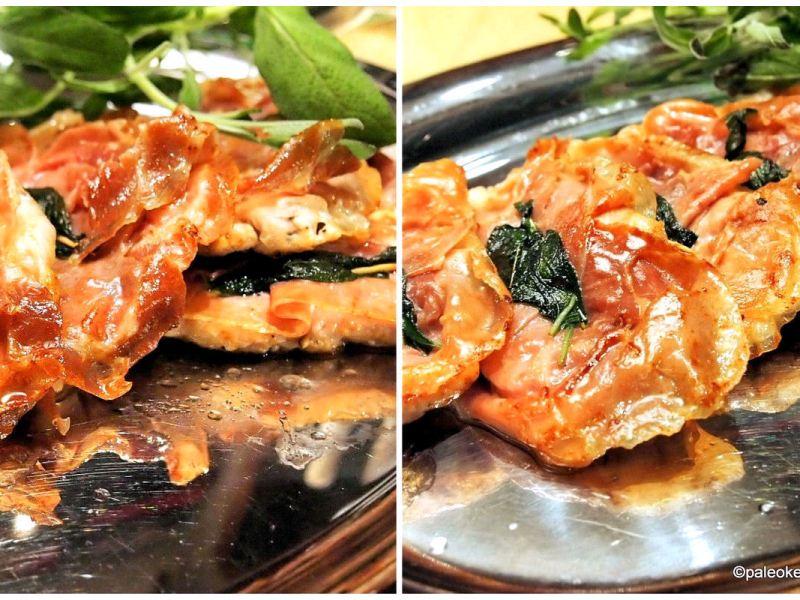 Kana-saltimbocca - Herkullista arkiruokaa Italiasta
