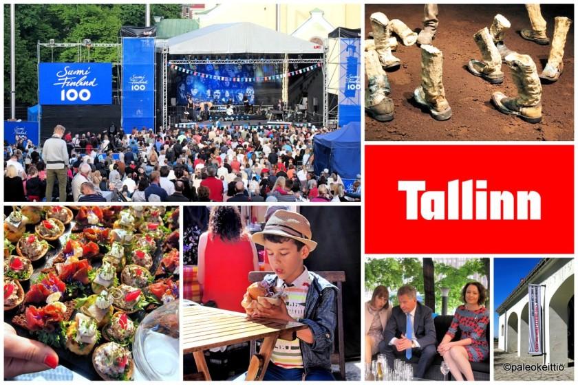 Tallinnan Suomi100 -viikonloppu | paleokeittio.fi