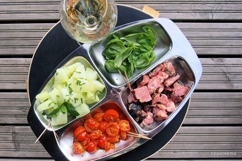 Kesän kootut cocktailpalat | paleokeittio.fi