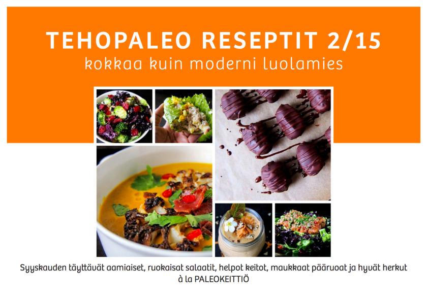 TehoPaleo -reseptit | paleokeittio.fi