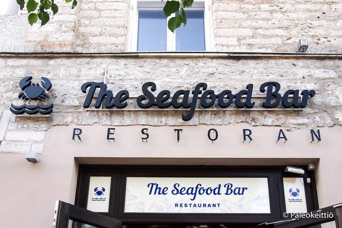 The Seafood Bar Tallinn | paleokeittio.fi