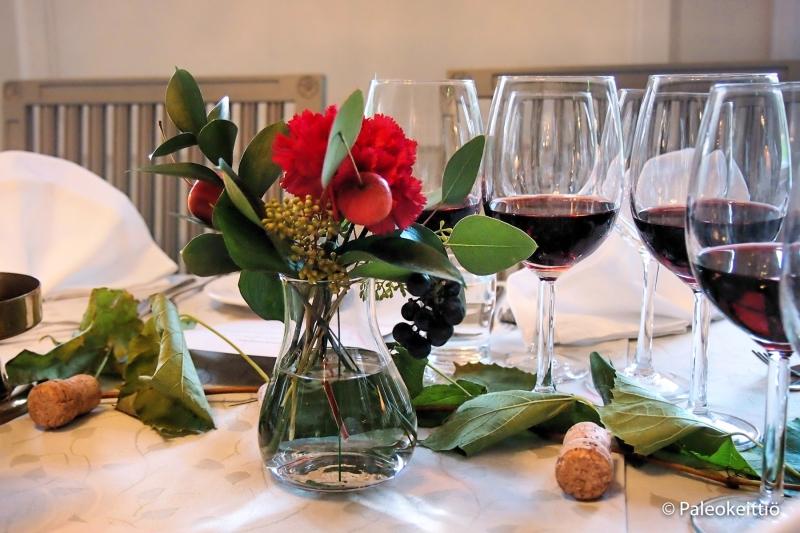 Wohls Gård viini-illallinen | paleokeittio.fi