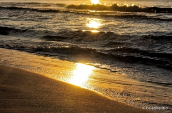 Auringonlasku, La Pineda Beach